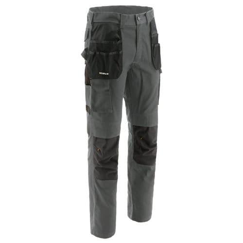 Caterpillar Essentials Knee Pocket Trousers Dark Shadow